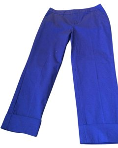 Mossimo Supply Co. Capri/Cropped Pants Royal Blue
