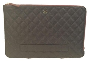 Chanel Cc Black Clutch