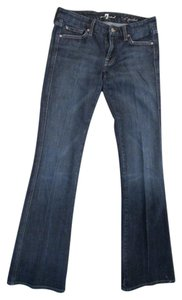 7 For All Mankind A-pocket Boot Cut Jeans-Medium Wash