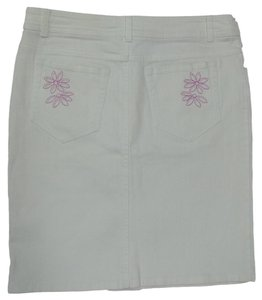 Lilly Pulitzer Mini Skirt White