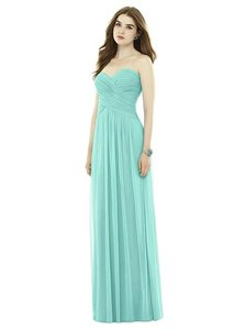 Alfred Sung Coastal Chiffon Knit D721 Feminine Bridesmaid/Mob Dress Size 10 (M)