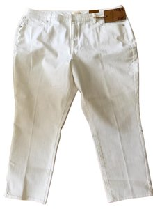 Coldwater Creek Size 20 Ankle Nwt Straight Leg Jeans-Light Wash