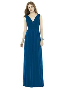 Alfred Sung Cerulean Blue D719 Dress
