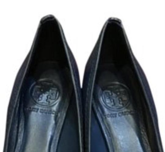 Tory Burch Navy Wedges Image 2