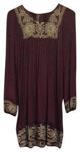 For Joseph short dress Purple on Tradesy