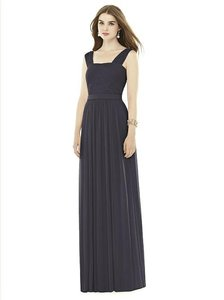 Alfred Sung Onyx Charcoal Gray D718 Dress