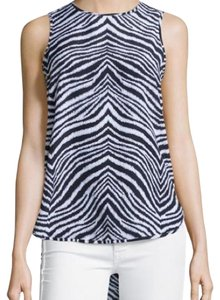 MICHAEL Michael Kors Top Blue/White