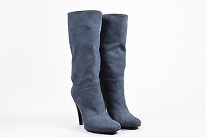 Stella McCartney Suede Blue Boots