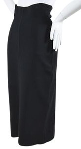 Prada Knit Stretch High Skirt Black