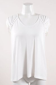 Alexander Wang Strappy Top White