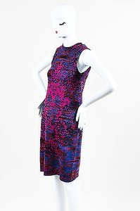 M Missoni short dress Multi-Color Red Blue Pink on Tradesy