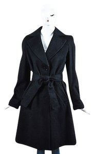 Emporio Armani Wool Trench Coat