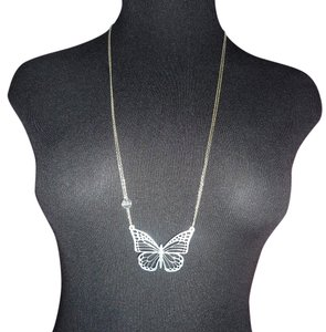 Pat Falcao Pat Falcao Signed Sterling Silver Handmade Laser-Cut Butterfly