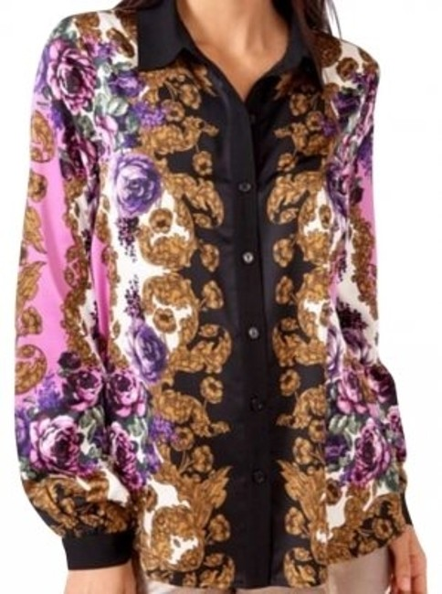 Preload https://item5.tradesy.com/images/forever-21-purple-floral-scarf-print-button-down-blouse-size-12-l-162199-0-0.jpg?width=400&height=650