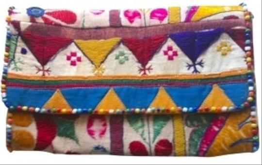 Preload https://img-static.tradesy.com/item/162200/roberta-roller-rabbit-gujrat-clutch22655-multi-color-with-beads-cotton-thread-clutch-0-0-540-540.jpg