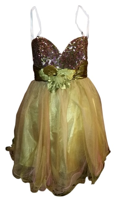 Preload https://item5.tradesy.com/images/cinderella-limebronze-prom-mid-length-cocktail-dress-size-10-m-1622034-0-0.jpg?width=400&height=650