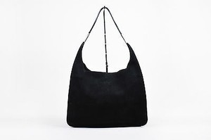 Gucci Suede Leather Hobo Bag