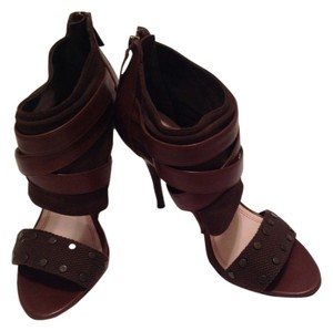 Plenty by Tracy Reese Chocolate Brown w/studs Sandals