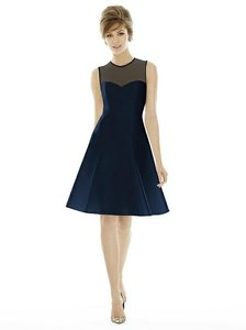 Alfred Sung Midnight Navy D694 Dress
