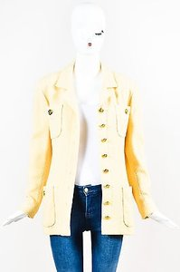 Chanel Vintage Boutique Yellow Jacket