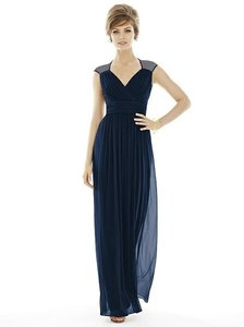 Alfred Sung Midnight Navy D693 Dress