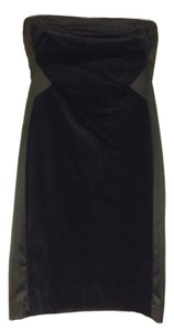 Rachel Roy Velvet Silk Strapless Elegant Dress