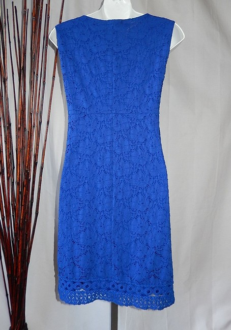 Alfani Embroidered Lace Sheath Dress