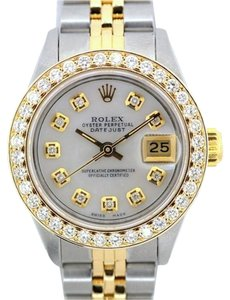 Rolex LADIES ROLEX DATEJUST GOLD S/S WATCH WITH ROLEX BOX & APPRAISAL