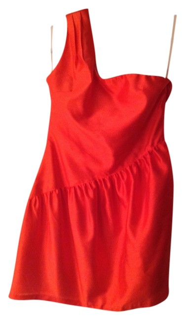 Preload https://item2.tradesy.com/images/fumblin-and-39-foe-tangerine-shantung-one-shoulder-above-knee-cocktail-dress-size-4-s-1622356-0-0.jpg?width=400&height=650