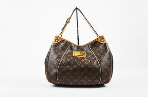 Louis Vuitton Vuitton Coated Canvas Monogram Galleria Shoulder Bag
