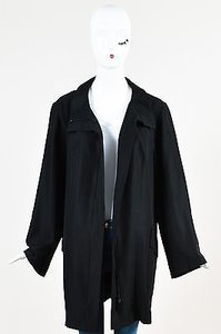 Akris Silk Pointed Black Jacket