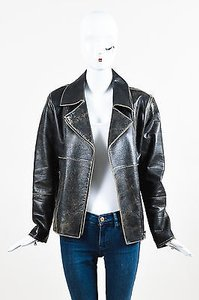 Andrew Marc Distressed Motorcycle Jacket