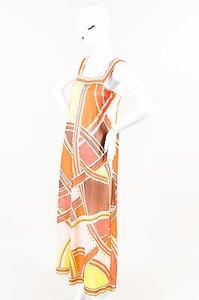 Multi-Color Maxi Dress by Emilio Pucci Vintage For Formfit Rogers Maxi