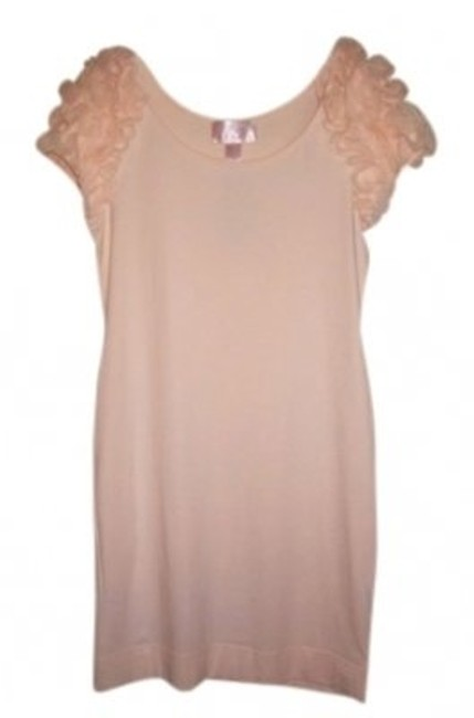 Preload https://item1.tradesy.com/images/h-and-m-blush-pink-ruffle-sleeve-mini-night-out-dress-size-8-m-16225-0-0.jpg?width=400&height=650