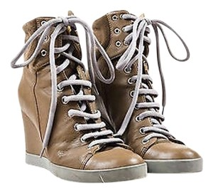 See by Chloé Chloe Gray Taupe Boots