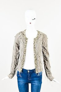 Patrizia Pepe Limited Edition Taupe Jacket