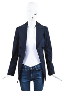 Emilio Pucci Navy Twill Blue Jacket