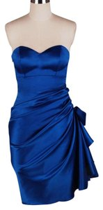 Other Strapless Satin Dress