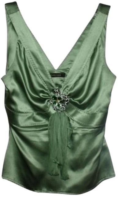 Preload https://item3.tradesy.com/images/roberto-cavalli-pale-green-night-out-top-size-4-s-16227-0-1.jpg?width=400&height=650