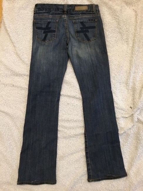7 For All Mankind Comfortable Seven Boot Cut Jeans-Medium Wash