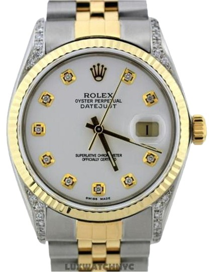 Preload https://img-static.tradesy.com/item/16227106/rolex-36mm-datejust-gold-ss-with-box-and-appraisal-watch-0-2-540-540.jpg