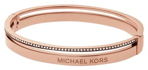 Michael Kors Michael Kors Rose Gold Tone Hinge Bangle