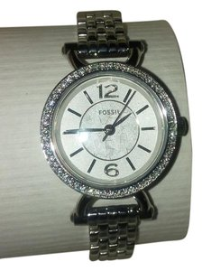Fossil Beautiful fossil watch with rhinestones