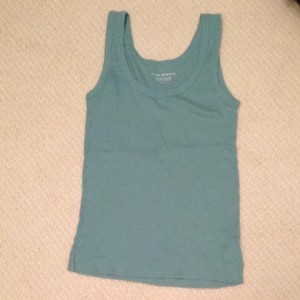Club Monaco Top Seafoam Green