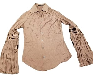 Gucci Button Down Shirt brown