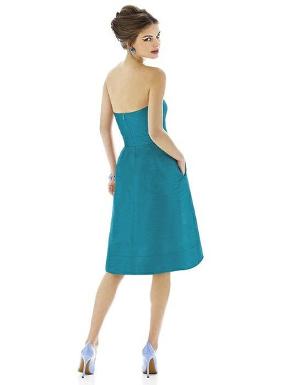 Alfred Sung Fusion Dupioni D580 Traditional Bridesmaid/Mob Dress Size 16 (XL, Plus 0x) Image 1