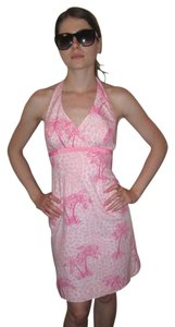 Lilly Pulitzer short dress Pink Palm Tree on Tradesy