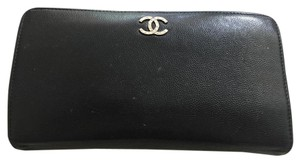 Chanel Classic Black Chanel Wallet