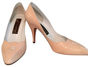 Lanvin Peach Pumps