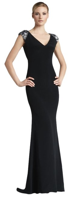 Preload https://item5.tradesy.com/images/marchesa-notte-black-embroidered-silk-gown-long-cocktail-dress-size-2-xs-1622964-0-0.jpg?width=400&height=650